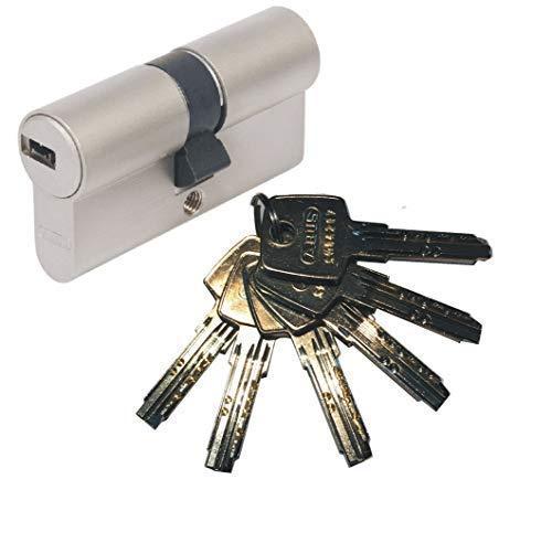 ABUS EC550 Profil-Doppelzylinder Länge 30/35mm mit 6 Schlüssel