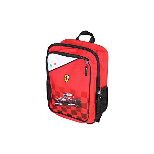 Cartorama Zaino Tempo Libero Ferrari Kinder-Rucksack, 38 cm, Rot (Rosso)