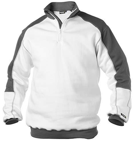 DASSY Sweatshirt BASIEL Weiss/grau Größe: M Farbe: Weiss