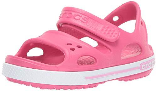 Crocs Crocband Ii Sandal Ps K, Unisex-Kinder Sandalen, Pink (Paradise Pink/carnation), 20-21 EU (5 UK)