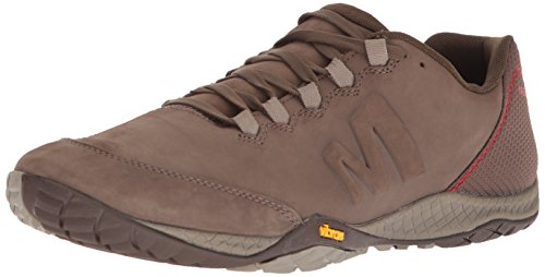 Merrell Herren Parkway Emboss Lace Sneaker, Braun Stone, 43 EU