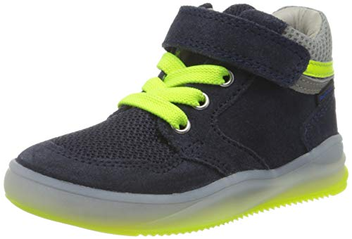Richter Kinderschuhe Jungen HarryL Hohe Sneaker, Blau (Atlantic/Ash/N.Ye/Ro 7201), 27 EU
