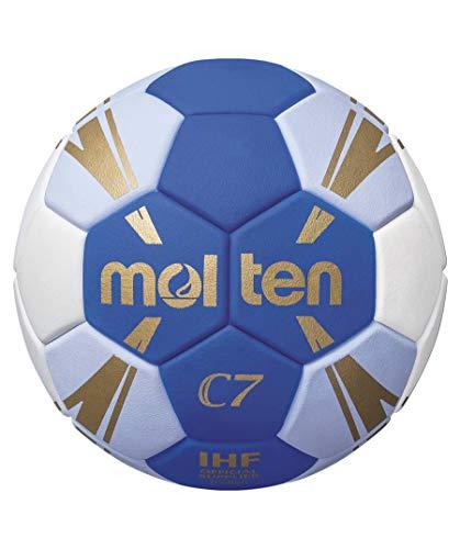 Molten C7 Trainingsball blau/weiß/Gold 2