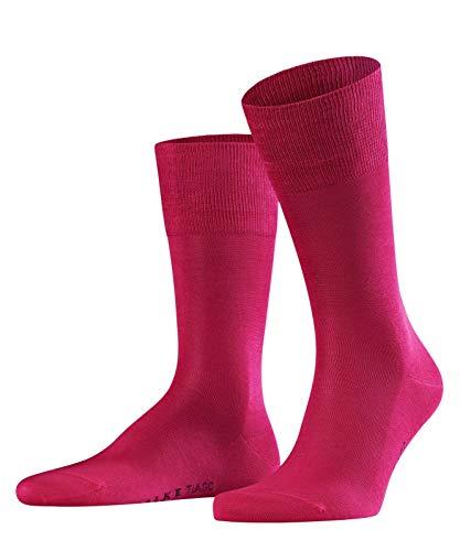 FALKE Herren Socken Tiago - 95% Baumwolle, 1 Paar, Rosa (Berry 8390), Größe: 43-44
