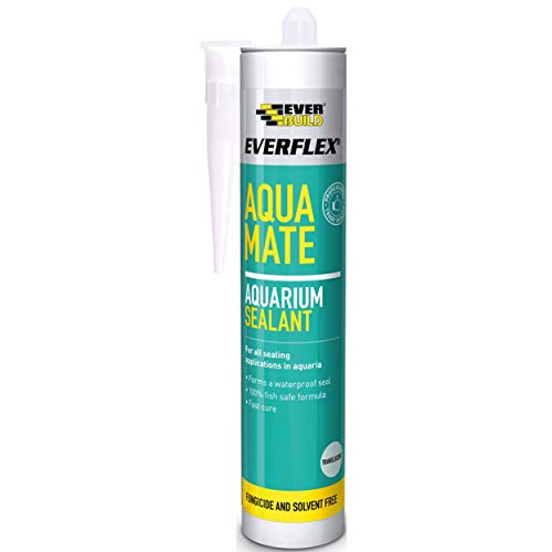 EVERBUILD Aqua Mate Silicone Transparent