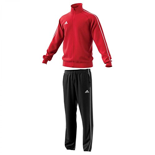 adidas Herren Polyesteranzug Core 18 Power red/White L