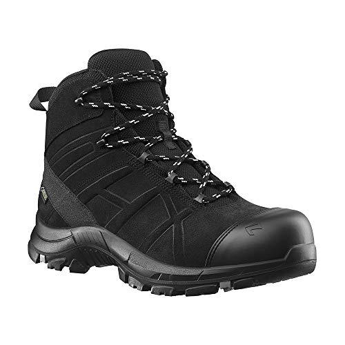 Haix Black Eagle Safety 53 Mid Leichte, metallfreie Sicherheitsschuhe: perfekt für den Rettungsdienst. 39
