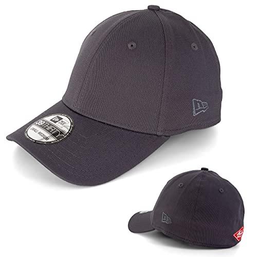 New Era Basecap Baseball Cap Herren Limited Edition MLB Mütze 39THIRTY Stretch Fit New York Yankee, LA Dodgers, Essential Basi (S-M, dunkelgrau, m)