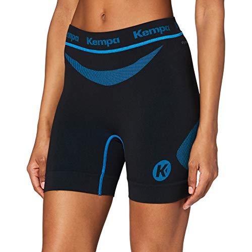 Kempa Erwachsene Bekleidung Teamsport Attitude Pro Shorts Damen, schwarz/kempablau, XL/2XL