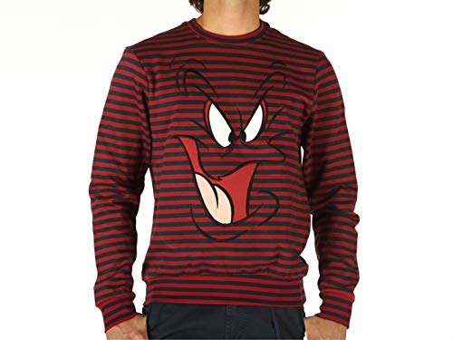 Eleven Paris ElevenParis, Herren, Bossam Sweat Light Stripes, Baumwolle, Sweatshirts, Rot S rot