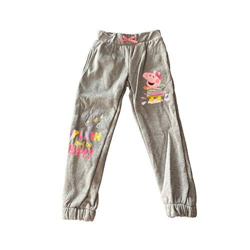 Peppa Pig Kinder Mädchen Jogginghose Sweathose 98-116 Freizeithose Sporthose neu!, Größe:116, Farbe:grau