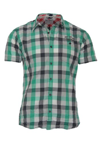 QS by s.Oliver Hemd Extra Slim, Größe:S;Farbe:Green