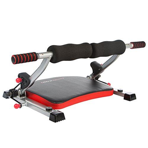 Ultrasport Multitrainer MT 10-Compact, 8 Trainingsvarianten, 3 Widerstandsstufen