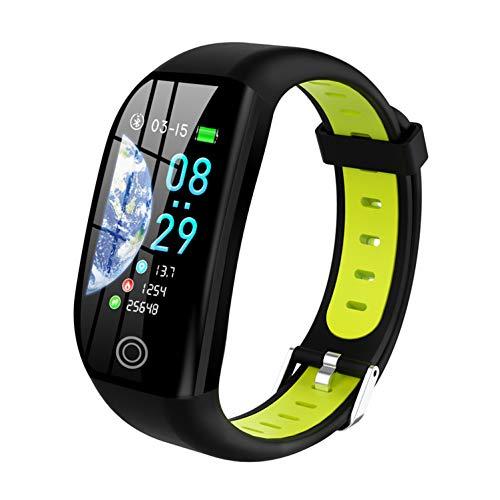 Tipmant Fitness Armband mit Pulsmesser Blutdruckmessung Smartwatch Fitness Tracker Wasserdicht IP68 Fitness Uhr Schrittzähler Pulsuhr Sportuhr für Damen Herren Kinder ios iPhone Android Handy (Grün)
