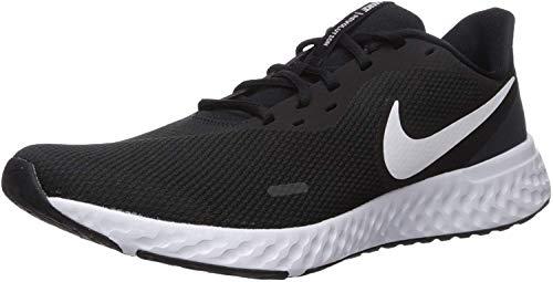 Nike Herren Revolution 5 Leichtathletikschuhe, Schwarz Black White Anthracite 002, 44 EU