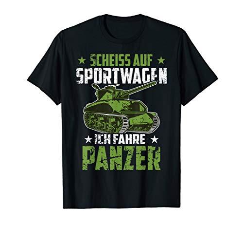 Herren Panzer Soldat Bundeswehr Tank Lustiger Spruch Geschenk T-Shirt