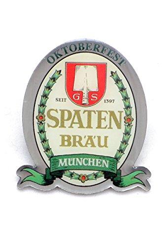 Bavariashop Spaten Wiesnpin 2014, Silberfarbene Anstecknadel zur Tracht, Sammler Edition