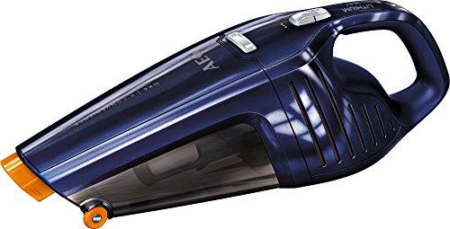 AEG HX6-27BM Akkusauger (beutellos, inkl. Zubehör, bis zu 27 min Laufzeit, ausziehbare Fugendüse, Doppelfilterung, 2 Leistungsstufen, oberflächenschonende Fronträder, 500 ml Staubbehälter, blau)