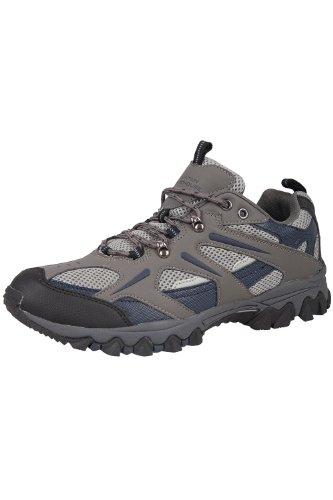 Mountain Warehouse Jungle Wanderschuhe für Herren - Leichte Laufschuhe, atmungsaktiv, weich, bequem, Flexible Fitnessschuhe - Ideal für Wandern und Trekking Blau 42