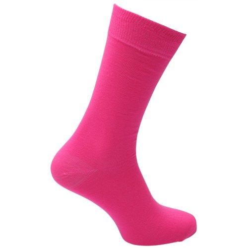 Herren Socken in Neonfarben (39-46) (Neonpink)