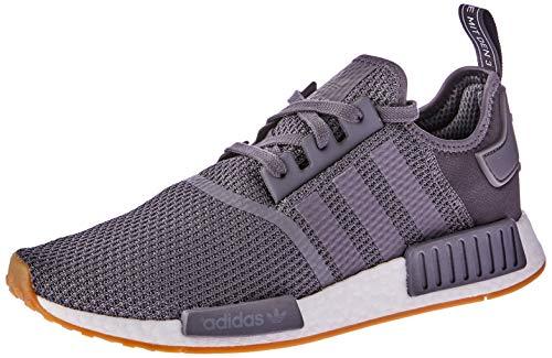 adidas Herren NMD_R1 Fitnessschuhe, Grau Grey Five/Core Black, 44 2/3 EU