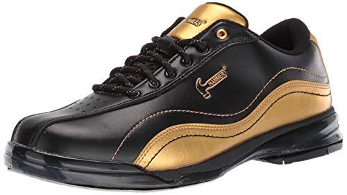 HAMMER Bowling Products Herren Black Widow Gold Performance Bowlingschuhe, rechte Hand, Schwarz/Gold, 11