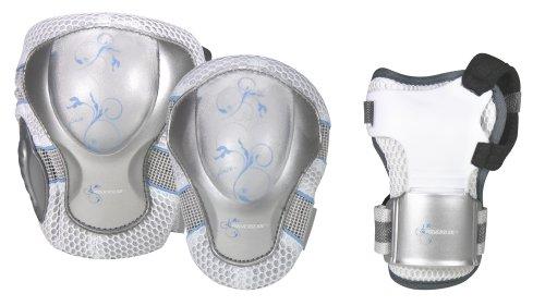 Powerslide Damen Schutz Pro Air, weiß, XL, 903121/6