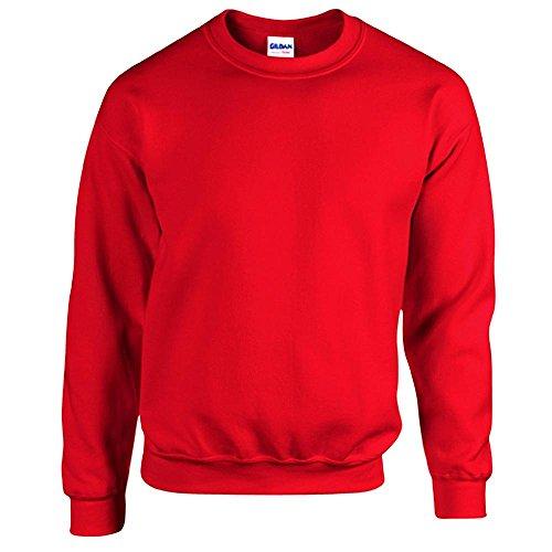 Gildan - Heavy Blend Sweatshirt - S, M, L, XL, XXL, 3XL, 4XL, 5XL /Red, 4XL