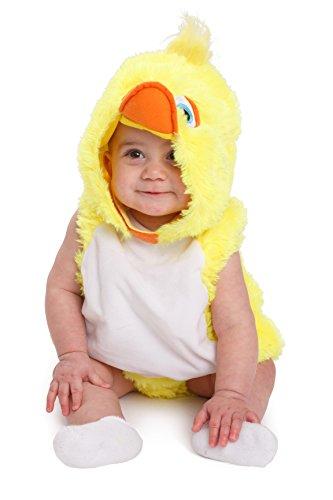 Dress Up America 861-0-6 Größe 0-6 Monate Baby Outfit Kinder Ente Halloween Fancy Kostüm, (Gewicht: 3,5-7 kg, Höhe: 43-61 cm)