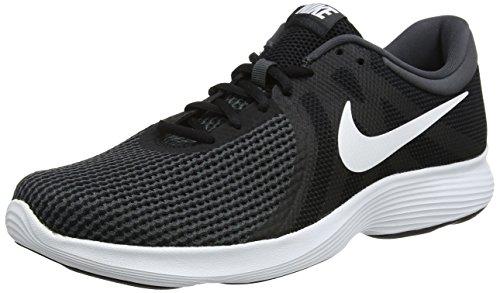 Nike Revolution 4, Herren Laufschuhe, Schwarz (Black/White/Anthracite 001), 44 EU (9 UK)