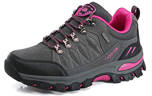 Eagsouni Wanderschuhe Herren Damen Wanderstiefel Atmungsaktiv Turnschuhe Sportlich Bequem Outdoor Walking Wandern Trekking Anti-Rutsch Schuhe für Unisex