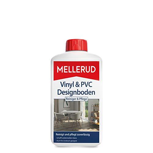 Mellerud Vinyl & PVC Designboden Reiniger & Pflege – Zuverlässiges Reinigungsmittel zur Reinigung von Vinyl-, Design-, PVC- und Linoleumböden – 1 x 1 l