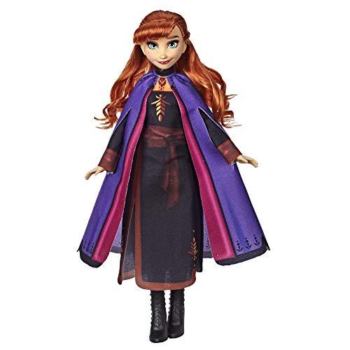 Hasbro Disney Die Eiskönigin II Anna Puppe mit langem rotem Haar und Outfit E6710ES0