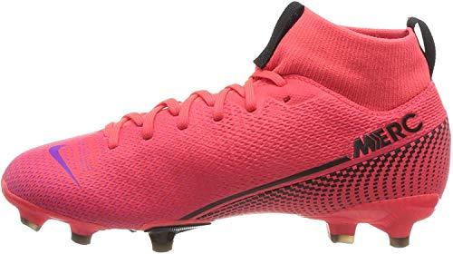 Nike Superfly 7 Academy Fg/Mg Fußballschuhe, Rot (Laser Crimson/Black-Laser Crim 606), 35 EU
