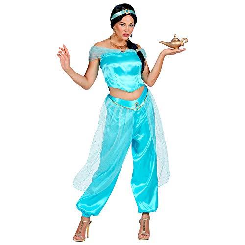 Widmann 10135218 Kostüm Arabische Prinzessin, Damen, Blau, S