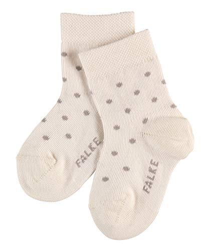 FALKE Baby Socken Little Dot - Baumwollmischung, 1 Paar, Weiß (Off-White 2040), Größe: 80-92