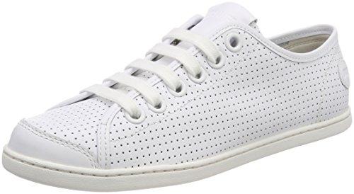 CAMPER Damen UNO Sneaker, Weiß (White Natural 100), 38 EU