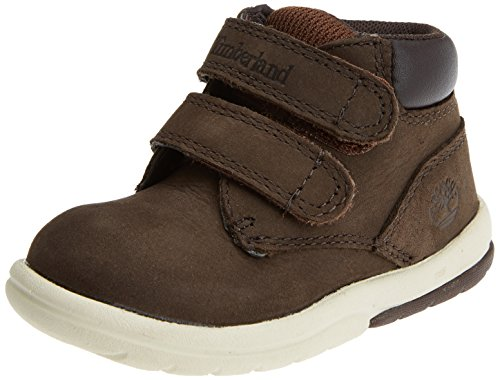 Timberland Unisex Baby Toddle Tracks Hook and Loop Stiefel, Braun (Red Briar Naturebuck D54), 23 EU
