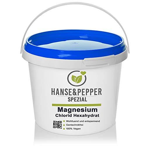5kg Magnesiumchlorid Hexahydrat MgCl2 Kristalline Pulver Magnesiumkristalle Magnesium Chlorid Hexahydrat - Greenline Serie