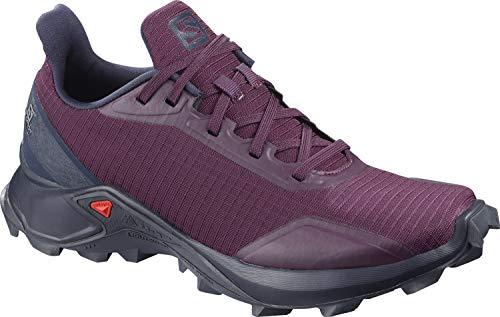 Salomon Damen Trail Running Schuhe, ALPHACROSS W, Farbe: lila (potent purple/navy blazer/india ink) Größe: EU 36 2/3