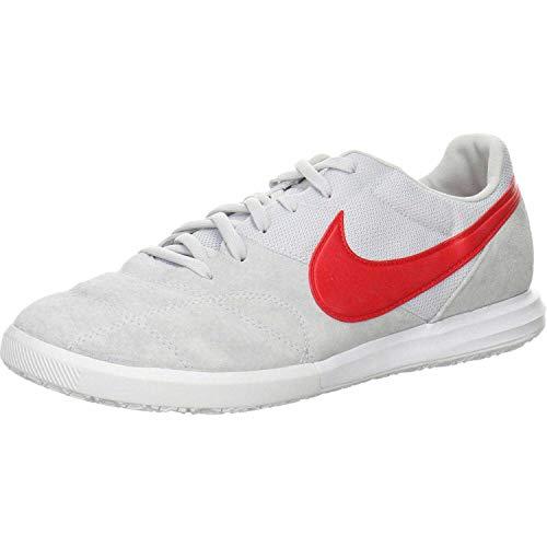 Nike Herren The Premier Ii Sala Fußballschuhe, Weiß (Pure Platinum/University Red-W 102), 43 EU