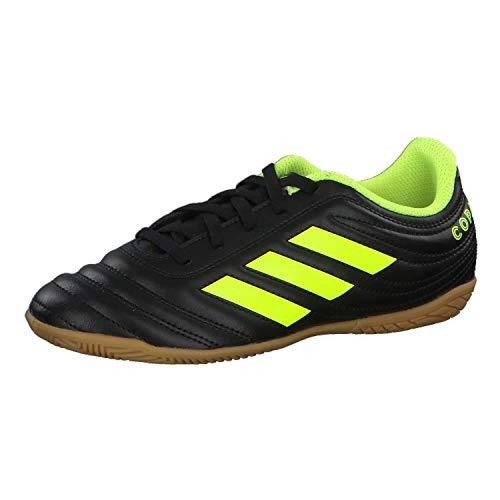 adidas Unisex-Kinder Copa 19.4 In J Fußballschuhe, Mehrfarbig Amasol/Negbás 000, 32 EU