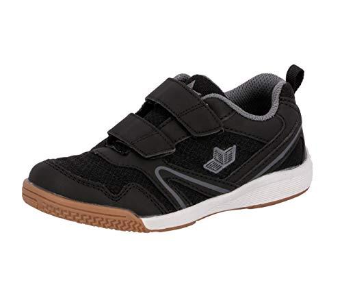 Lico BOULDER V Unisex Kinder Multisport Indoor Schuhe, Schwarz/ Anthrazit, 32 EU