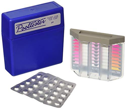 Pooltester, Wassertester für Whirlpool oder Schwimmbad, Chlorgehalt und pH-Wert