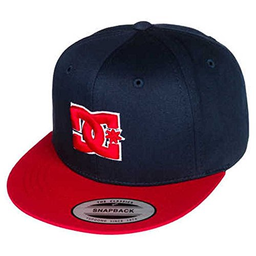 DC Shoes Jungen Cap Snappy- by B Hat, Dc Navy/Red, One Size, ADBHA00008-XBBR
