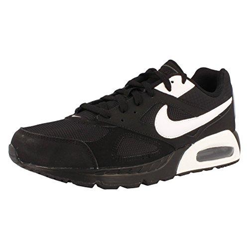 Nike Herren Air Max Ivo Turnschuhe, Negro / Blanco / Negro (Black / White-Black), 44 EU
