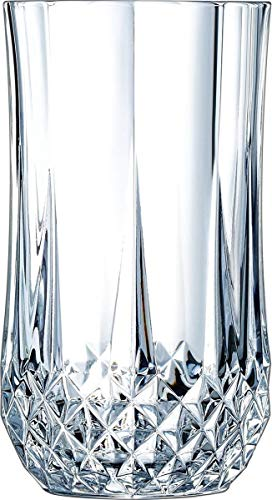 Cristal d'Arques Longdrinkgläser, Glas, Transparent, 25 x 18 x 18.5 cm, 6-Einheiten