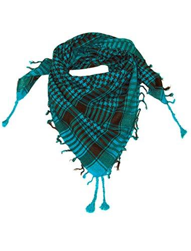 LOVARZI Türkis Blau Palästinenser Tuch - Tucher für junge Männer und Frauen
