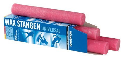 Holmenkol Unisex– Erwachsene Stangenwachs, pink, 4 x 250 g