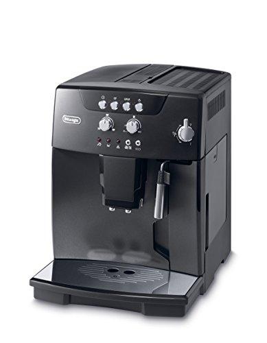 De'Longhi Magnifica ESAM 04.110 B Kaffeevollautomat (Direktwahltasten und Drehregler, Milchaufschäumdüse, Kegelmahlwerk 13 Stufen, Herausnehmbare Brühgruppe, 2-Tassen-Funktion) schwarz